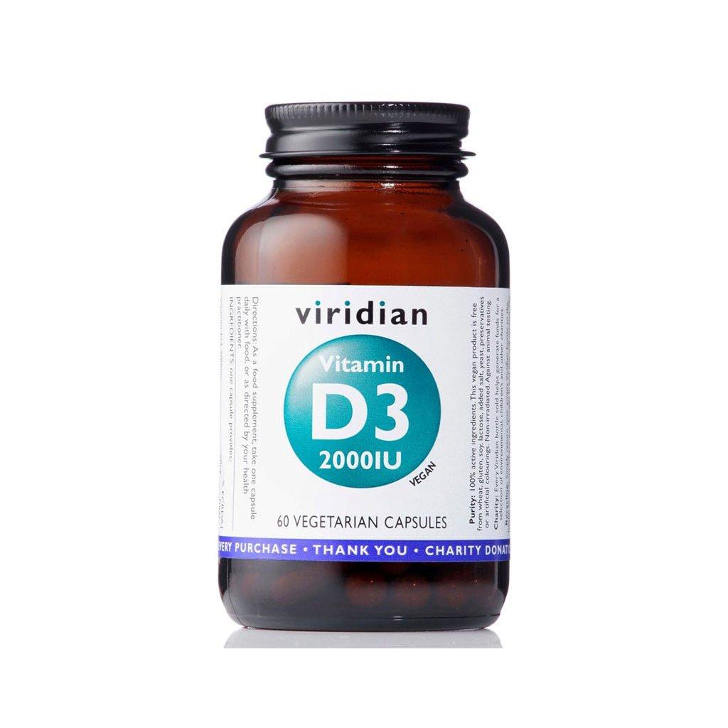 viridian vitamin d3 2000iu