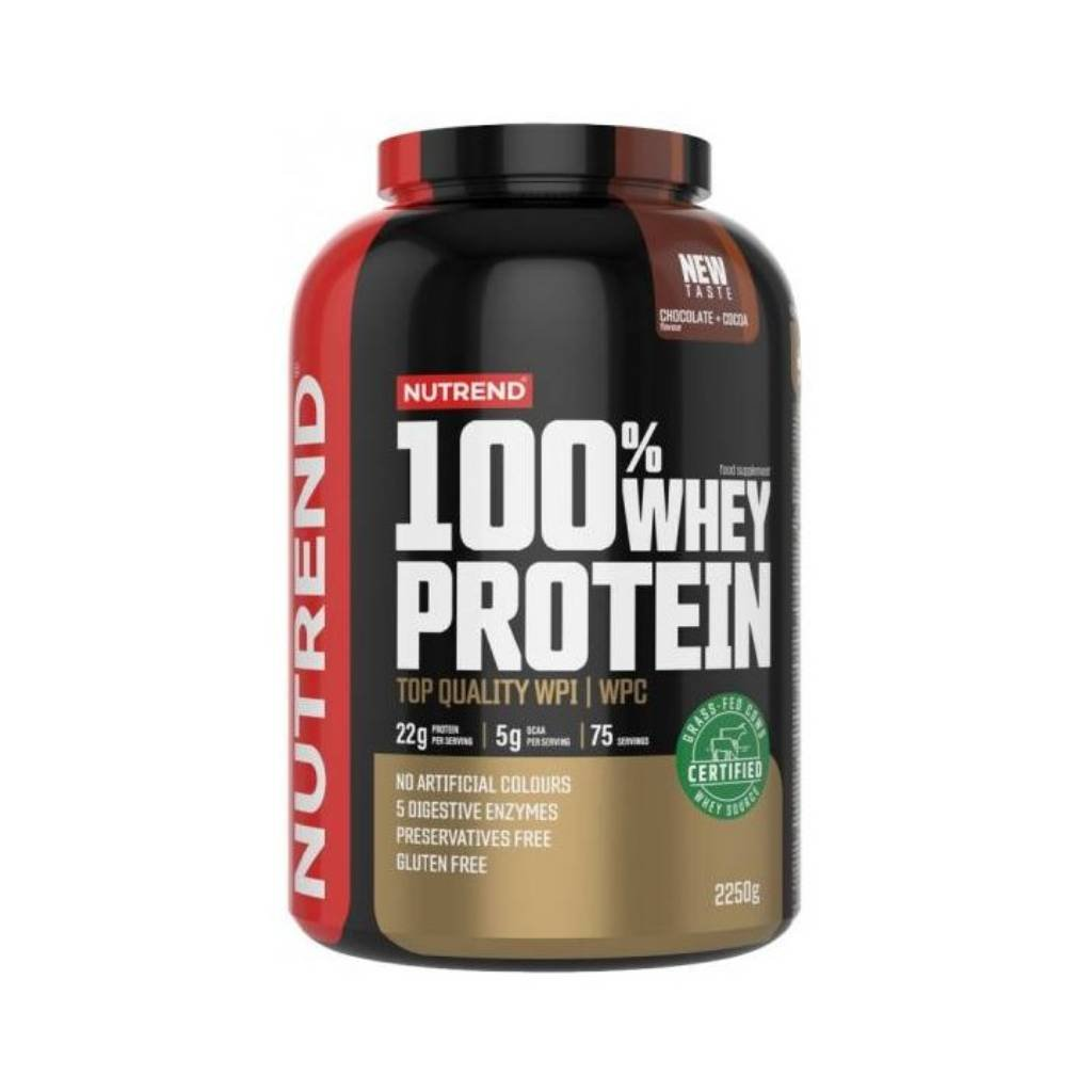 nutrend 100 whey protein new 2250 g