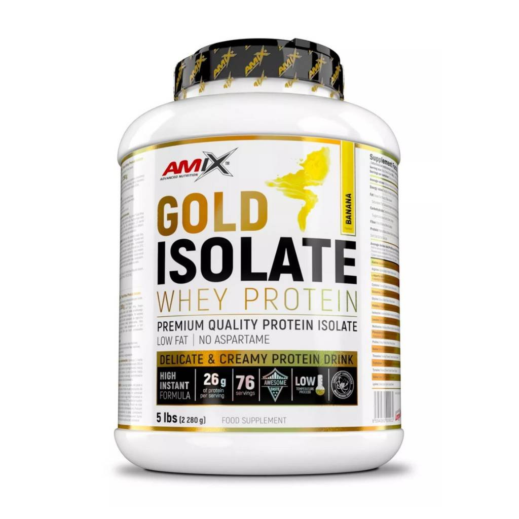amix gold whey protein isolate 2280 g