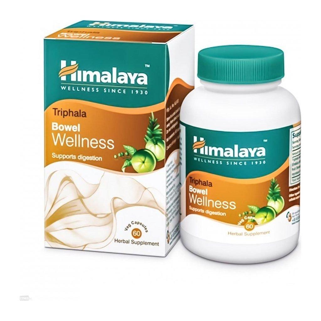 himalaya herbals triphala na traveni a vylucovani 60 kapsli