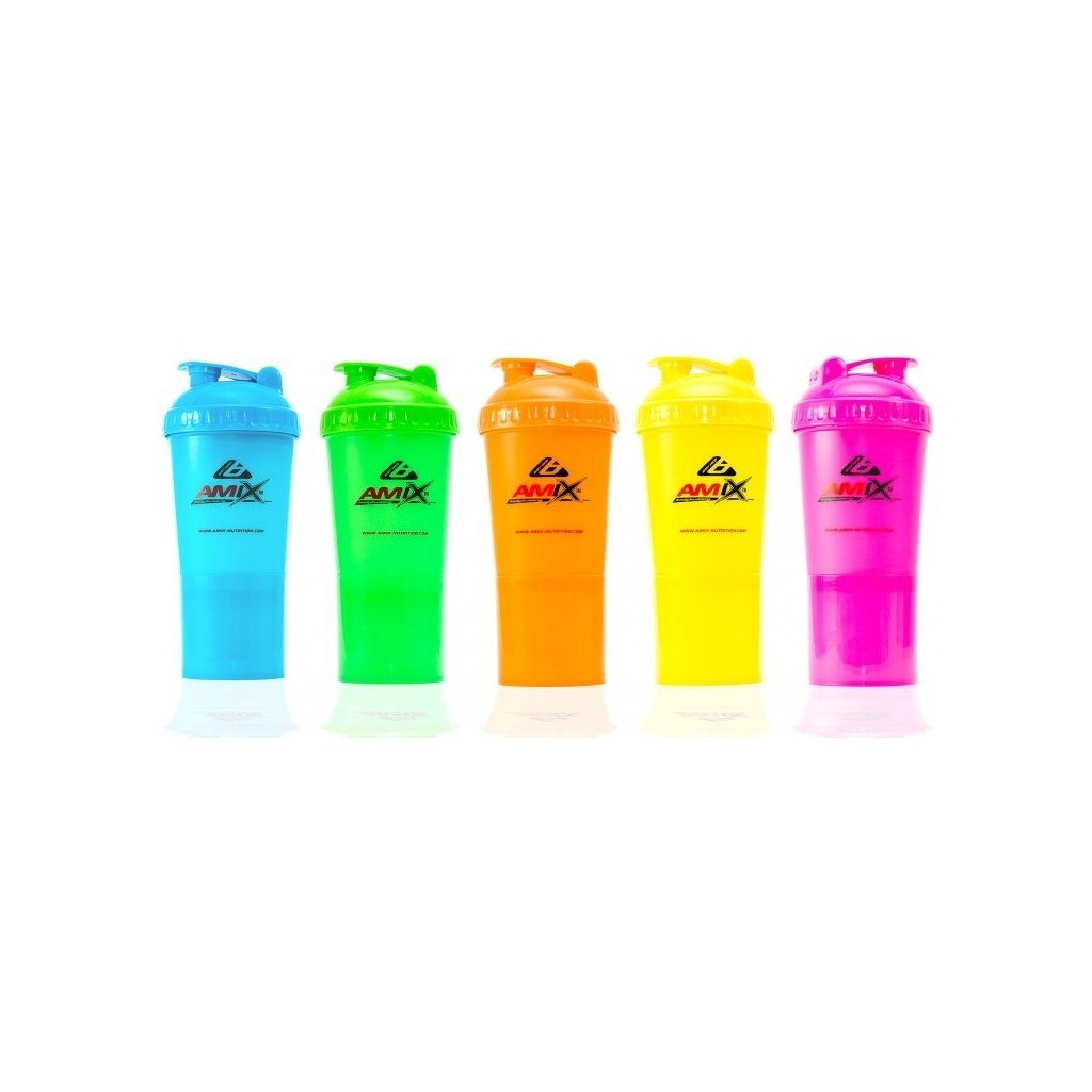AMIX Shaker Monster Bottle Color 600ml (Barva Modrá)