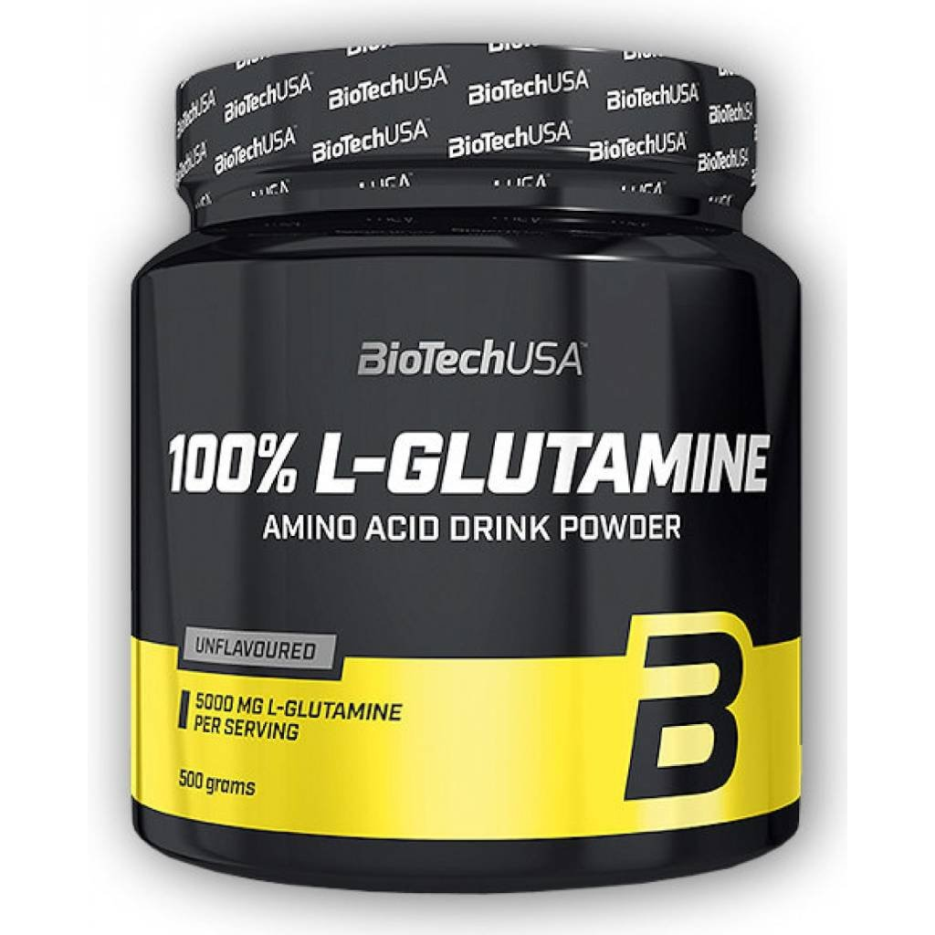 BioTech USA 100% L-Glutamine (Balení 500 g)
