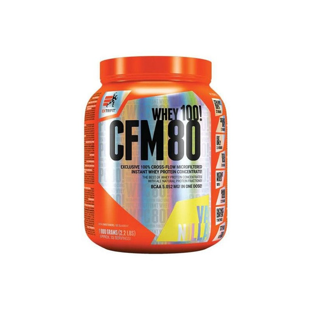 extrifit cfm instant whey protein 80 1000 g