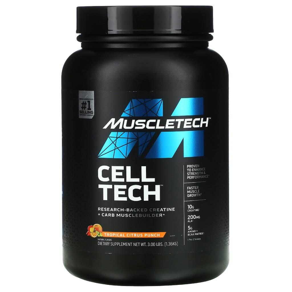 MuscleTech Cell-Tech 1400g (Příchuť Hrozno)