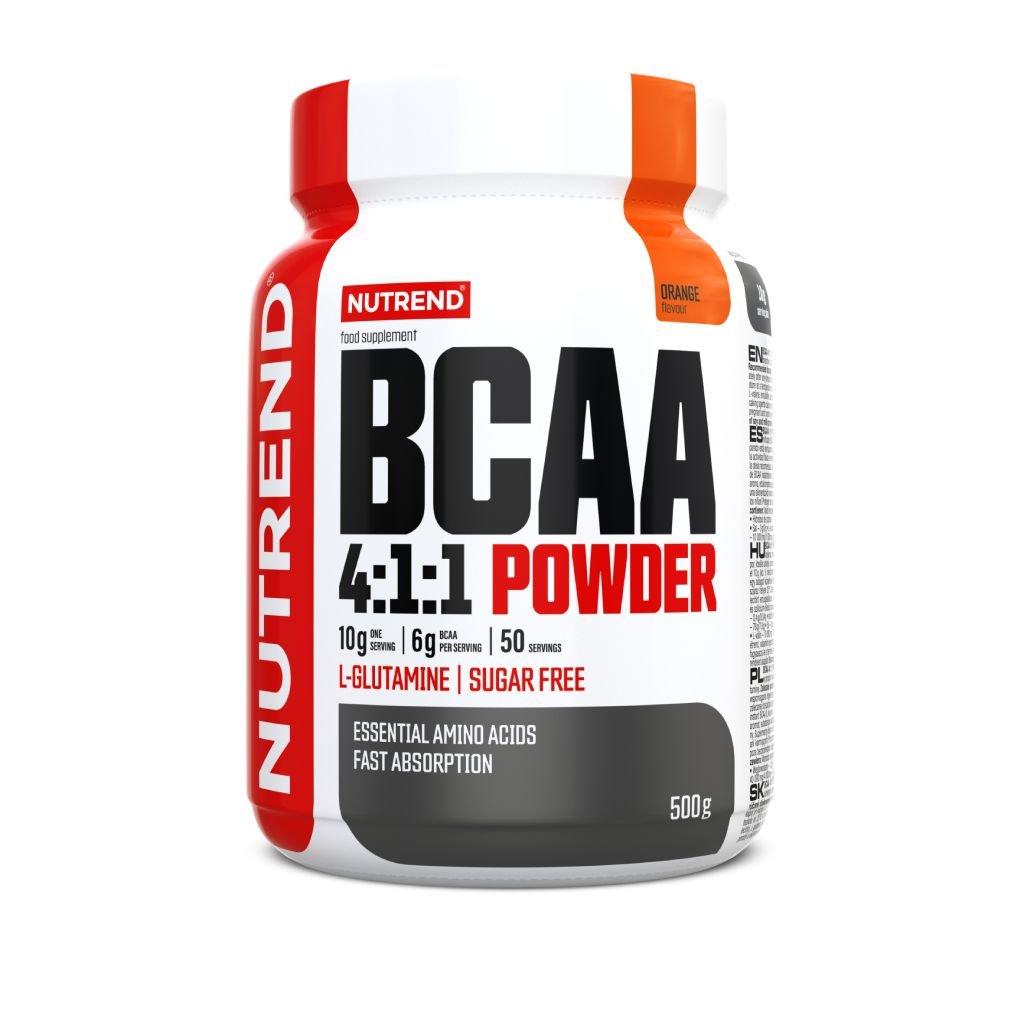 Nutrend BCAA MEGA Strong Powder 500g (Příchuť Grep)