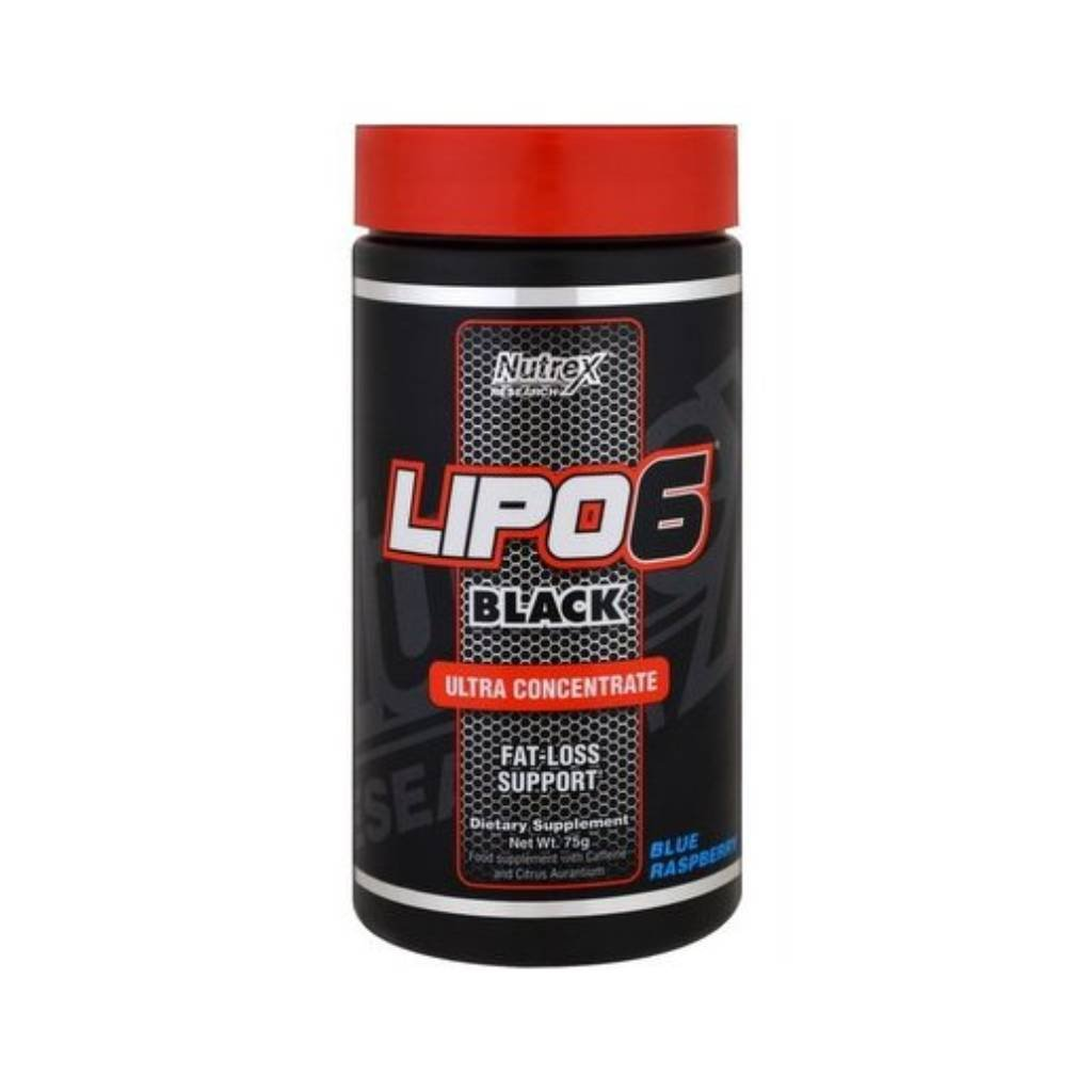 nutrex lipo 6 black ultra concentrate 60 tablet