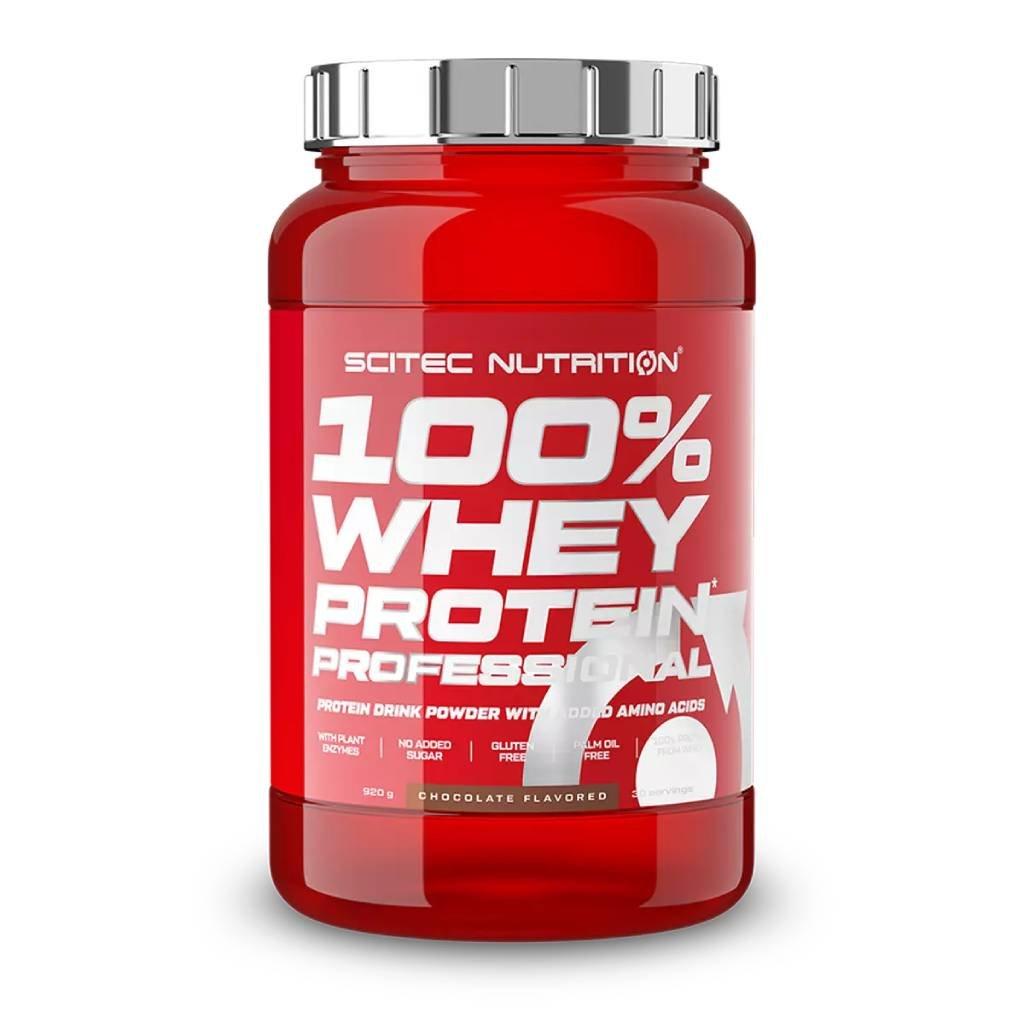 Scitec Nutrition 100% Whey Protein Professional 920 g (Příchuť Čokoláda/Arašídové máslo)