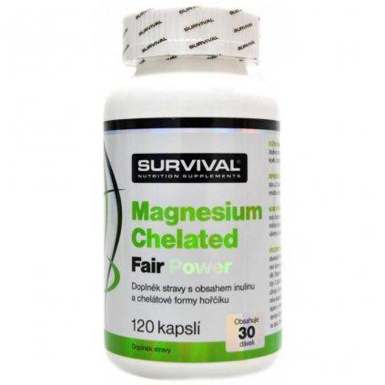 magnesium chelated fair power zinc chelated