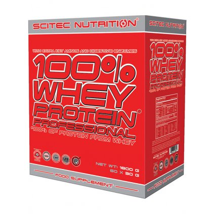 scitec nutrition 100 whey protein professional 60 x 30 g
