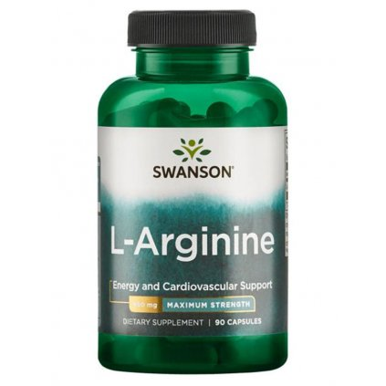 swanson l arginin max strength 850 mg