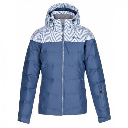 damska zimni lyzarska bunda kilpi buffy w modra