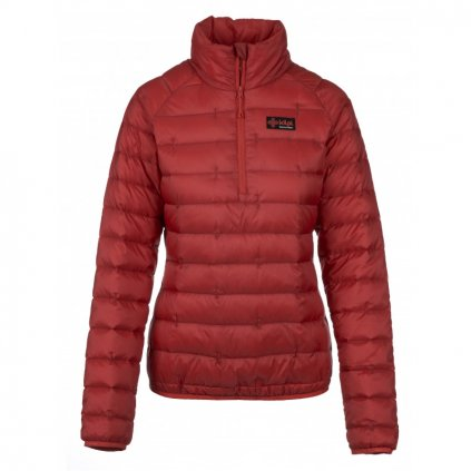 damska zimni perova bunda kilpi edmon w cervena
