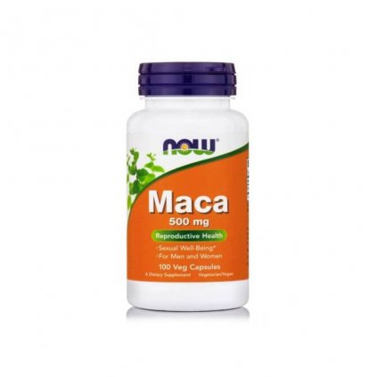 now foods maca 500 mg 100 kapsli
