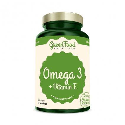 greenfood omega 3 120 kapsli
