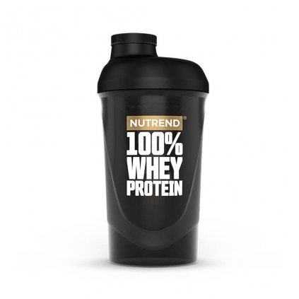 nutrend shaker 100 whey protein 600 ml