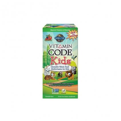 garden of life vitamin code kids 60 tablet