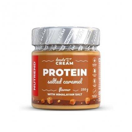 nutrend denuts cream protein orechovy krem slany karamel 250 g