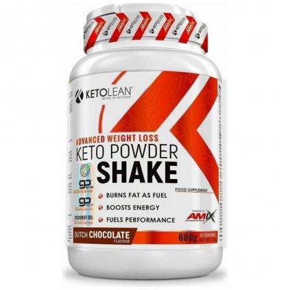 amix ketolean keto gobhb powder shake 600 g