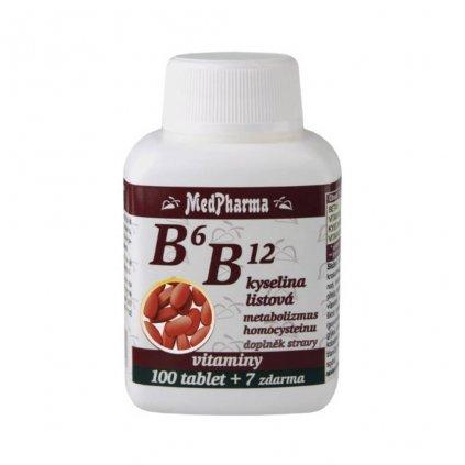 medpharma b6 b12 kyselina listova 107 tablet