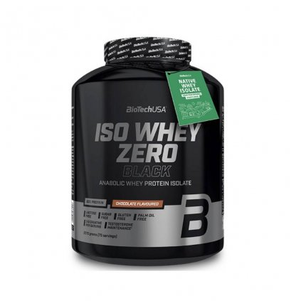 biotech usa iso whey protein zero black 2270 g