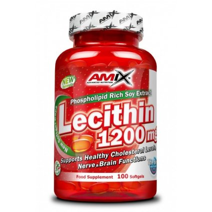 6152 amix lecithin 1200mg 100 tablet