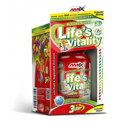 6284 amix life s vitality active stack 60 tablet