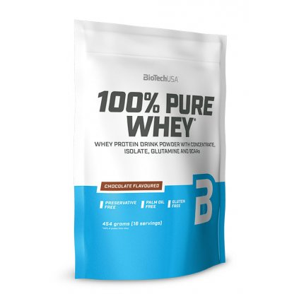 biotech usa 100 pure whey protein 454 g