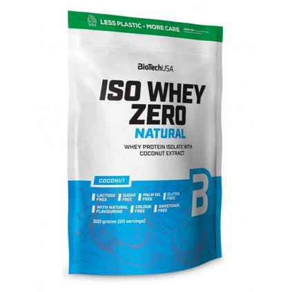 Biotech USA Iso Whey Zero 500g - NENÍ SKLADEM (Příchuť Banán)