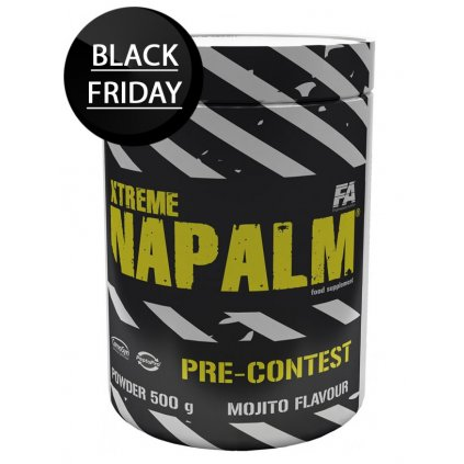 fitness authority xtreme napalm pre contest 500g