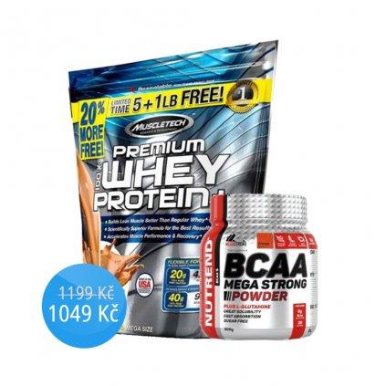 MuscleTech 100% Premium Whey Protein PLUS 2720g (Příchuť Čokoláda)
