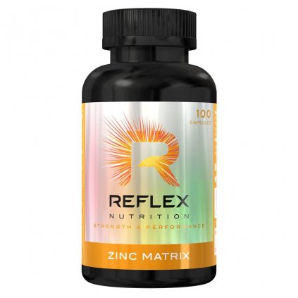 6809 reflex nutrition zinc matrix 100 kapsli reflex nutrition