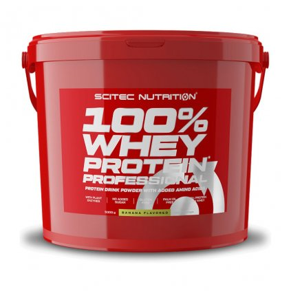 Scitec Nutrition 100% Whey Protein Professional 5kg (Příchuť Vanilka)
