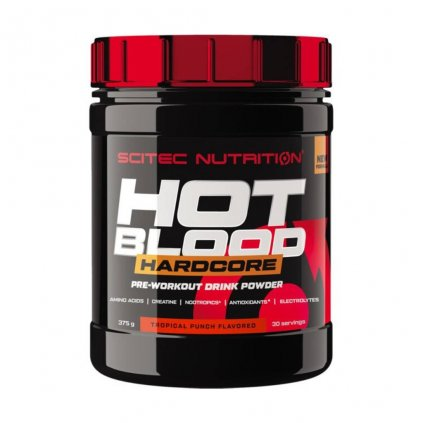 SciTec Nutrition Hot Blood 3.0 300g (Příchuť Pomeranč/Maracuje)