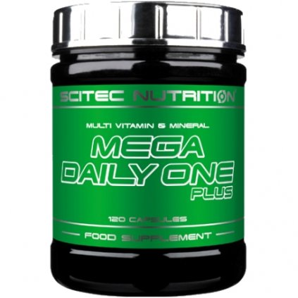 5126 scitec nutrition mega daily one plus 120 tablet