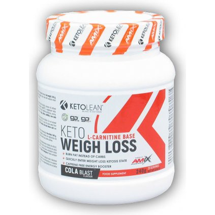 amix ketolean weigh loss