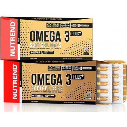 nutrend omega 3 softgels