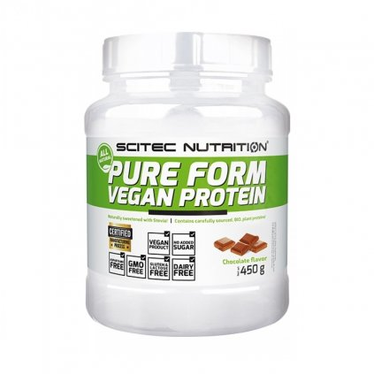 scitec nutrition pure form vegan 450 g