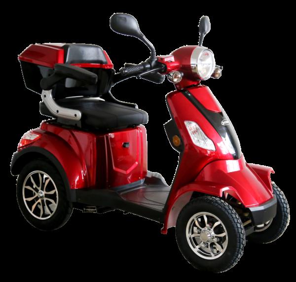Nové varianty elektrických vozíků pro seniory SELVO
