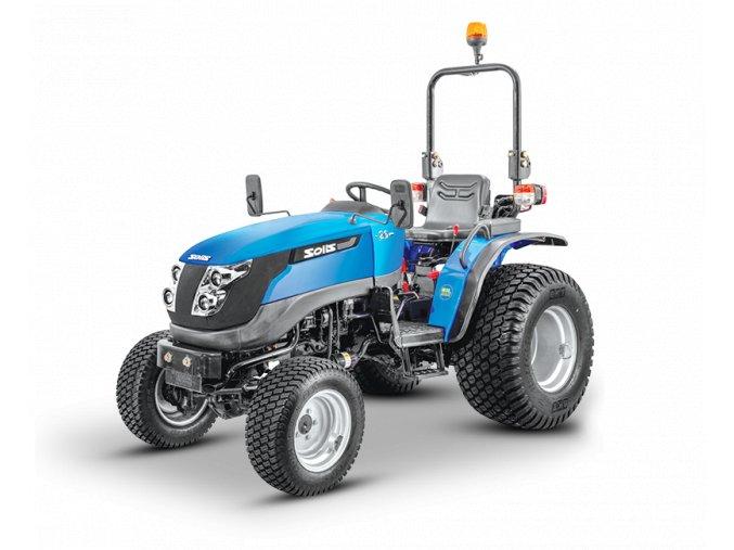 zemědělský traktor solis gt 26 modré barvy