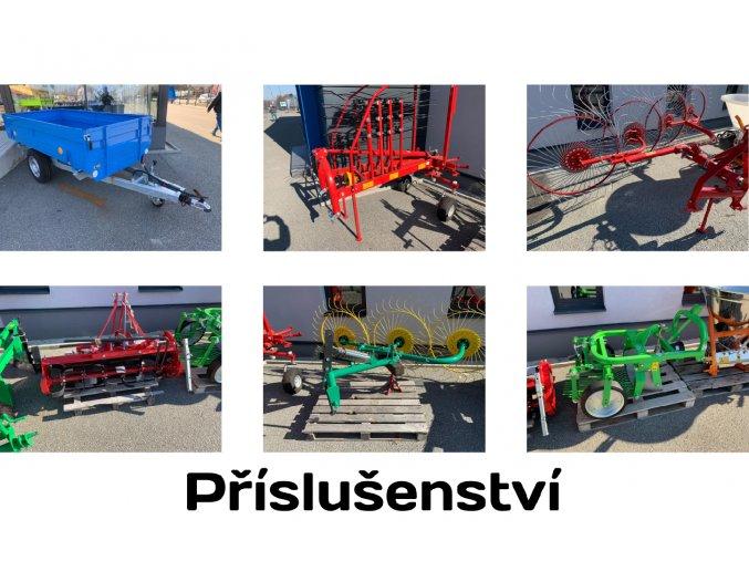 příslušenství pro zemědělské traktory solis