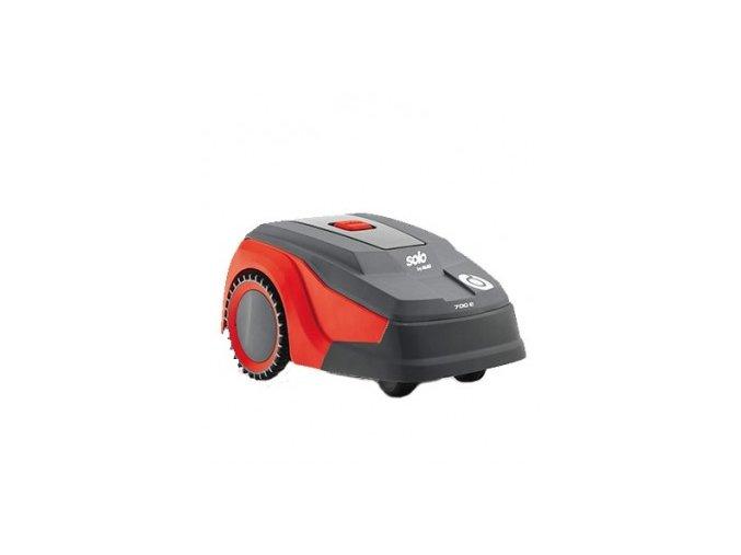 robotická sekačka al-ko robolinho 700e šedo-červené barvy