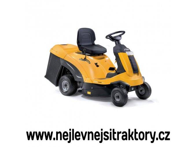 zahradní traktor stiga combi 3072 h žluté barvy s malými koly