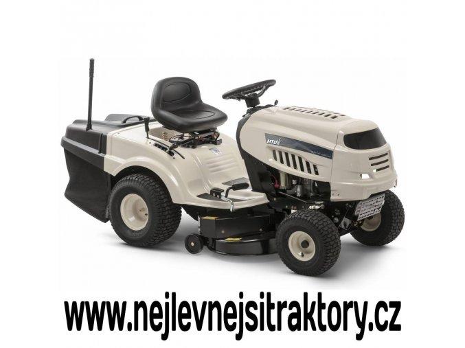 zahrandí traktor mtd dl 92 t světlé barvy s velkými koly
