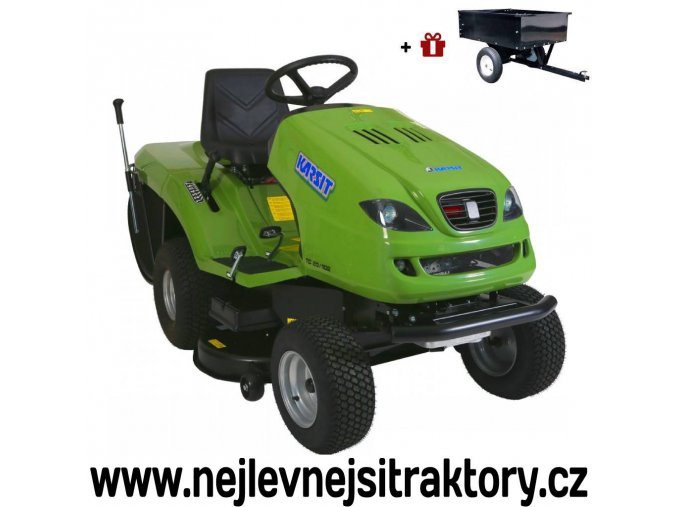 zahradní traktor karsit 20/102h cut zelené barvy