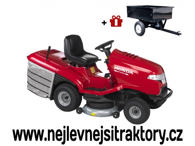 zahradni traktor honda hf 2417 hb
