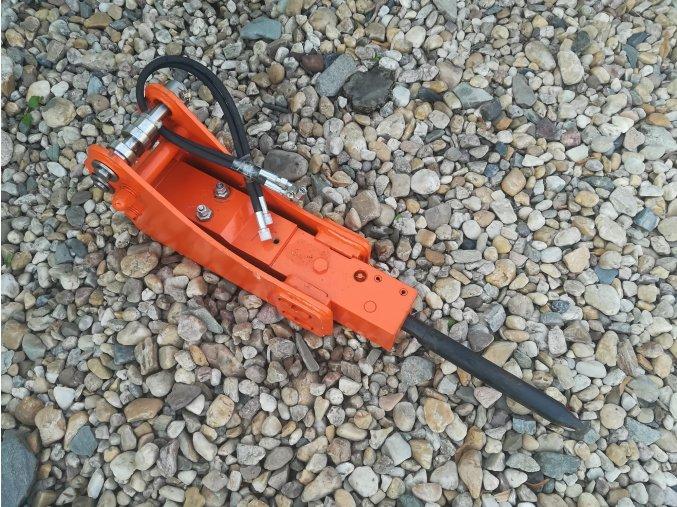 hydraulické kladivo pro minibagry