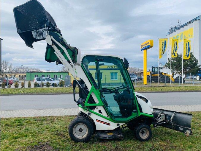 zahradní traktor etesia hydro 100 s kabinou