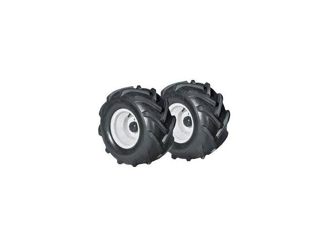 šípové pneumatiky na zahradní traktory