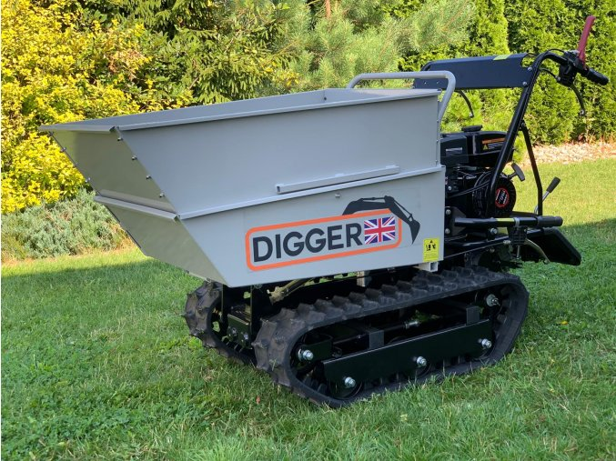 dumper, dempr, dampr, motorové kolečko, motucko, pasovy prepravnik Digger D 400 H