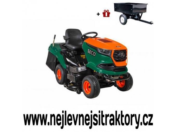 zahradní traktor seco starjet limitovaná edice zeleno žluté barvy
